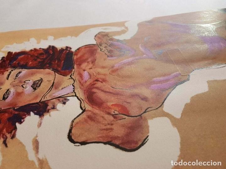 Arte: Egon Schiele -Female Nude serigraph - Foto 2 - 218826936