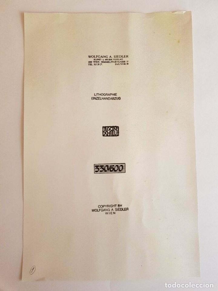 Arte: Egon Schiele -Female Nude serigraph - Foto 4 - 218826936