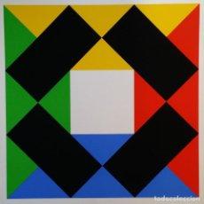 Arte: MAX BILL: VARIACIÓN CON CENTRO BLANCO, 1972 / SERIGRAFÍA EDICIÓN LIMITADA. Lote 222831473