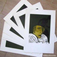 Arte: 38 SERIGRAFIAS NUMERADAS Y FIRMADAS A LÁPIZ POR JOSÉ LUIS DELGADO 1969, TIRADA DE 100 EJEMPLARES. Lote 223026547