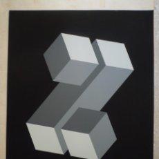 Art: YTURRALDE. SERIGRAFIA ORIGINAL. 1972. FIRMADA. EDICIÓN 25/125.. Lote 223241665