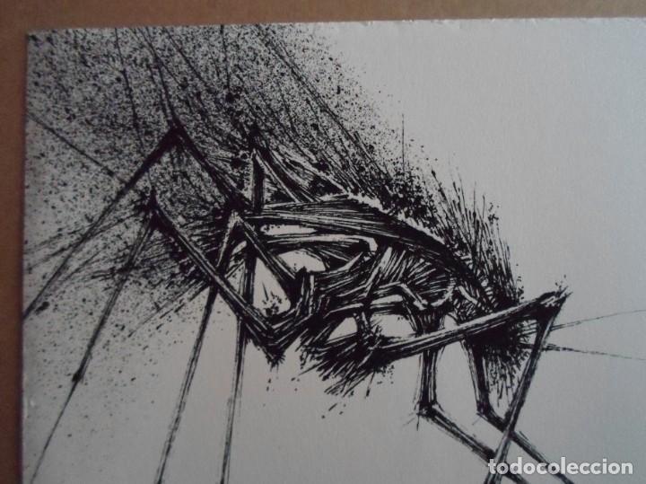 Arte: Manuel Rivera (Granada, 1927-Madrid, 1995) serigrafía 1980 de 32x49cms, firmada lápiz y num PA - Foto 5 - 122153915