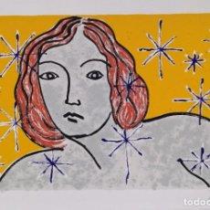 Arte: MUJER CON ESTRELLAS, OBRA A DOCUMENTAR FIRMADA Y NUMERADA 35/50. Lote 226712755