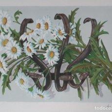 Arte: SERIGRAFIA DE UN OLEO DE SUSAN MUSSI S.XX, NÚMERADA.. Lote 227725542