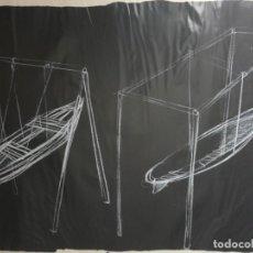 Arte: SERIGRAFÍA DE ALEXIS LEYVA KCHO (CUBA 1970). Lote 227961815