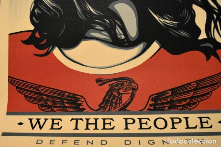 Arte: OBEY - SHEPARD FAIREY - WE THE PEOPLE - 3 SERIGRAFÍAS ORIGINALES - SERIE COMPLETA - Foto 5 - 228357455