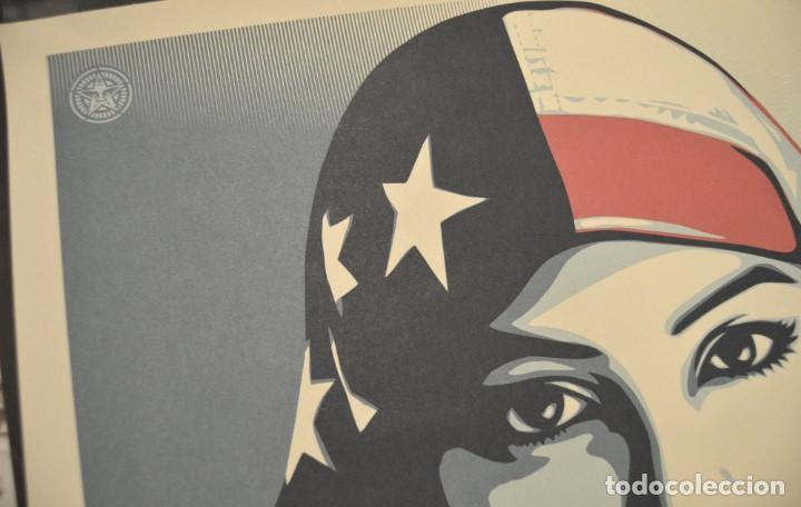 Arte: OBEY - SHEPARD FAIREY - WE THE PEOPLE - 3 SERIGRAFÍAS ORIGINALES - SERIE COMPLETA - Foto 15 - 228357455