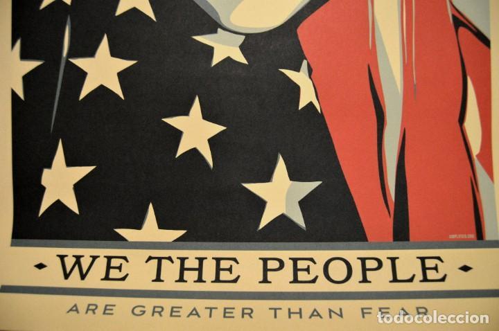 Arte: OBEY - SHEPARD FAIREY - WE THE PEOPLE - 3 SERIGRAFÍAS ORIGINALES - SERIE COMPLETA - Foto 16 - 228357455