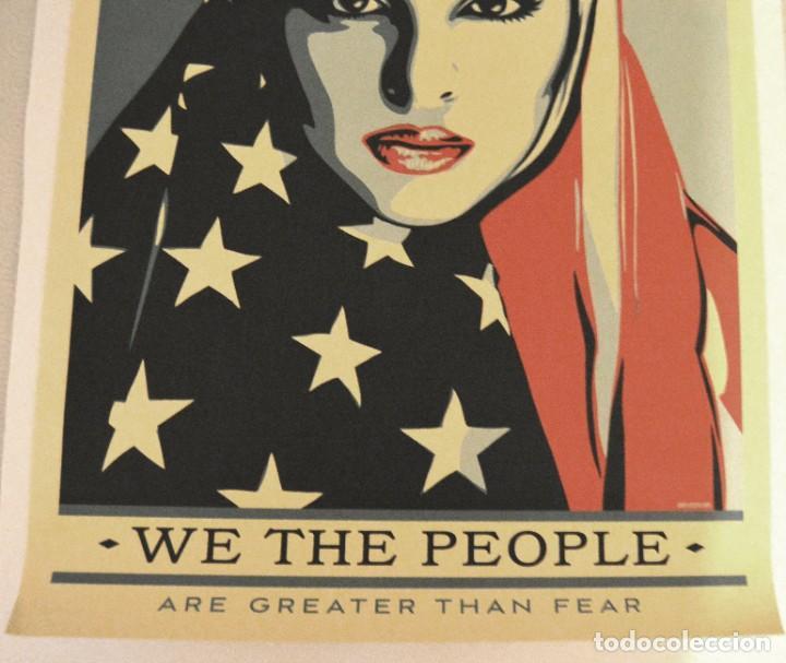 Arte: OBEY - SHEPARD FAIREY - WE THE PEOPLE - 3 SERIGRAFÍAS ORIGINALES - SERIE COMPLETA - Foto 19 - 228357455
