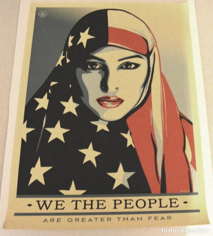 Arte: OBEY - SHEPARD FAIREY - WE THE PEOPLE - 3 SERIGRAFÍAS ORIGINALES - SERIE COMPLETA - Foto 20 - 228357455