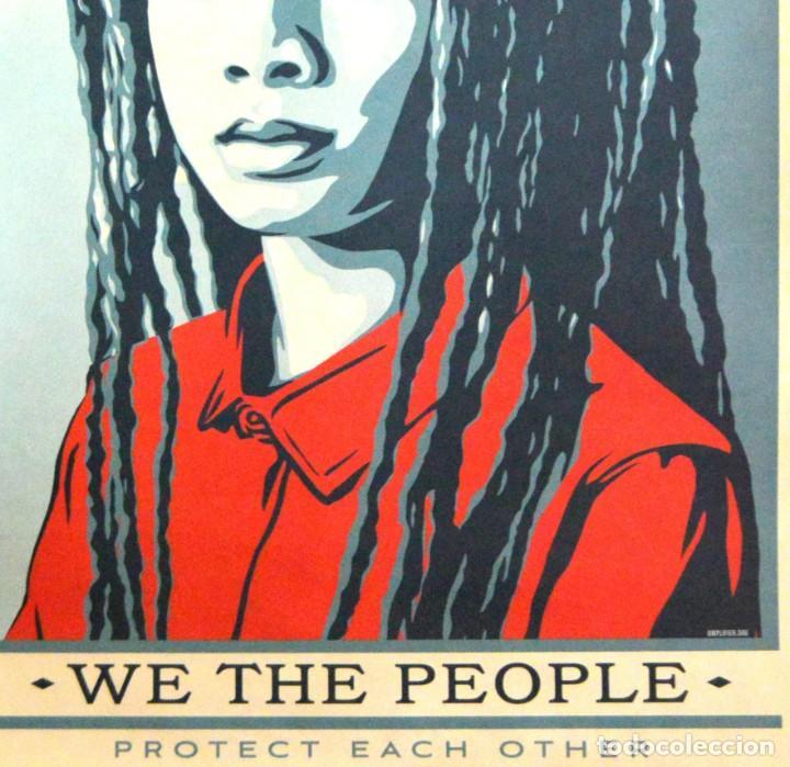 Arte: OBEY - SHEPARD FAIREY - WE THE PEOPLE - 3 SERIGRAFÍAS ORIGINALES - SERIE COMPLETA - Foto 23 - 228357455