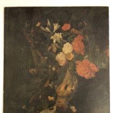 Arte: BONITA OLEOGRAFIA SOBRE COBRE- BODEGÓN DE RACHEL RUYSCH 20,5CM X 26,5 CM. Lote 229182815