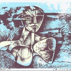 Arte: RAUL CAPITANI. BARCELONA 1979-1995. FIRMADO Y NUMERADO XXXI/L. MUSEU MONJO. VILASSAR DE MAR. 1996.. Lote 230885620