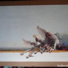 Art: AHMED SHABABUDDIN (DHAKA, BANGLADESH, 1950) SERIGRAFÍA 90X63C DE 1992 COI FIRMADA LÁPIZ Y Nº/250. Lote 142857410