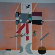 Arte: LORENZO CARRIÓN, ANTONIO (MADRID1922/2009) SERIGRAFÍA 60X 45. 231/460.AÑO 84. PERFECTA.. Lote 233002678