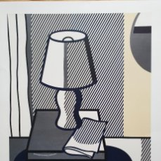 Art: ROY LICHTEINSTEIN. STILL LIFE WITH TABLE LAMP, SERIGRAFIA INDUSTRIAL. MAMAGRAF. Lote 235734170