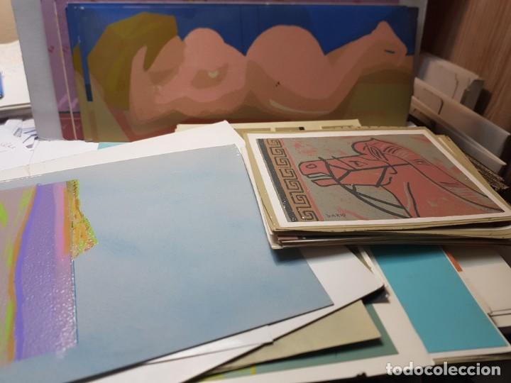 SERIGRAFÍA OBRAS FIRMADAS Y RETOCADAS A MANO POR AUTOR LOTE 91 ALGUNAS CERTIFICADAS (Arte - Serigrafías )