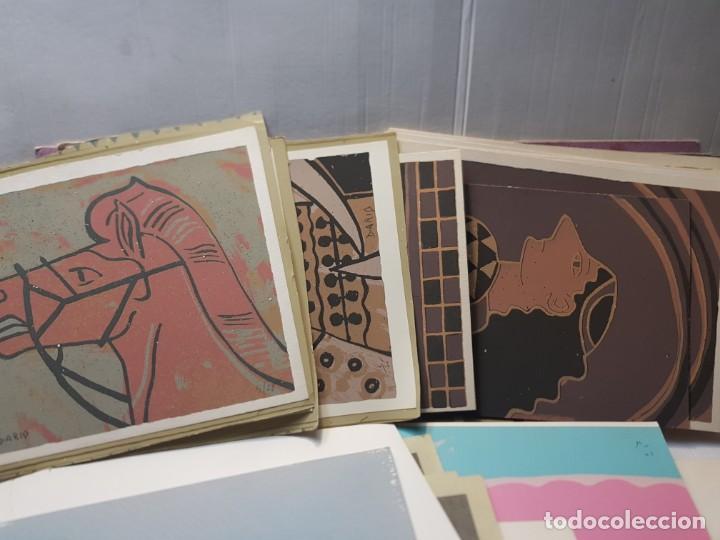 Arte: Serigrafía obras Firmadas y Retocadas a Mano por autor lote 91 algunas certificadas - Foto 3 - 241402310