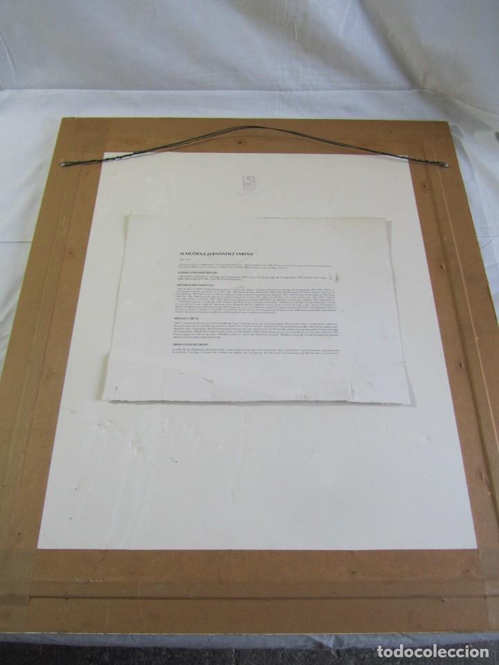 Arte: Serigrafía? enmarcada De Almudena Fernández Fariña, 135/300, año 2000 - Foto 2 - 243016050