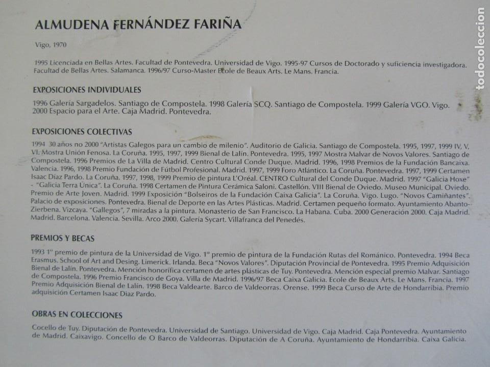 Arte: Serigrafía? enmarcada De Almudena Fernández Fariña, 135/300, año 2000 - Foto 3 - 243016050