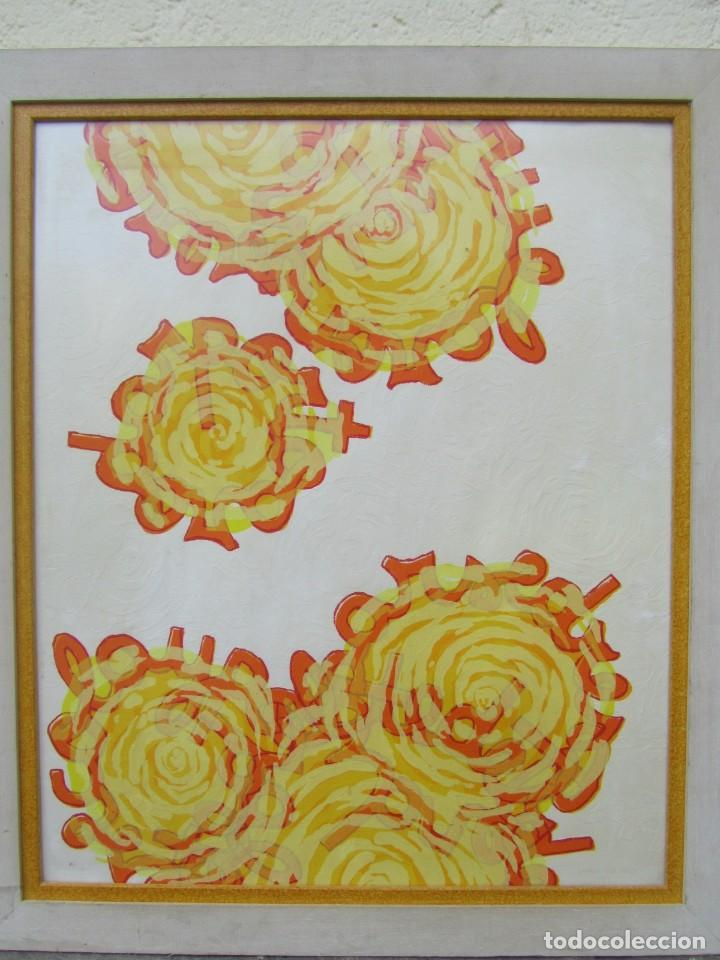 Arte: Serigrafía? enmarcada De Almudena Fernández Fariña, 135/300, año 2000 - Foto 4 - 243016050