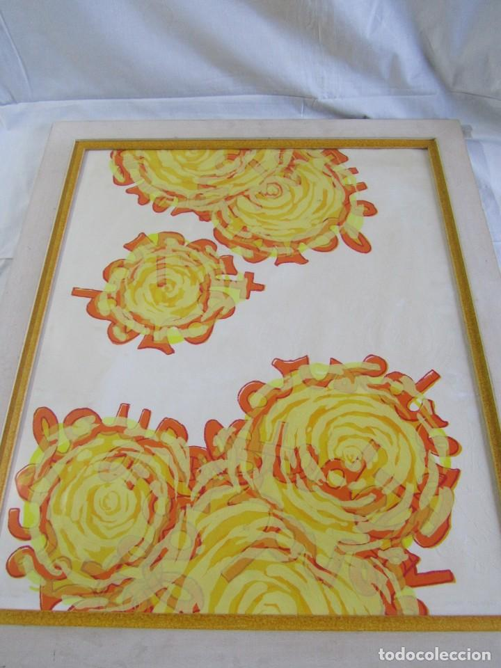Arte: Serigrafía? enmarcada De Almudena Fernández Fariña, 135/300, año 2000 - Foto 5 - 243016050