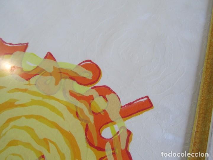 Arte: Serigrafía? enmarcada De Almudena Fernández Fariña, 135/300, año 2000 - Foto 6 - 243016050