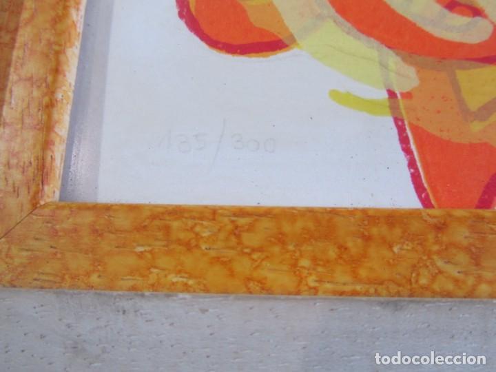 Arte: Serigrafía? enmarcada De Almudena Fernández Fariña, 135/300, año 2000 - Foto 7 - 243016050