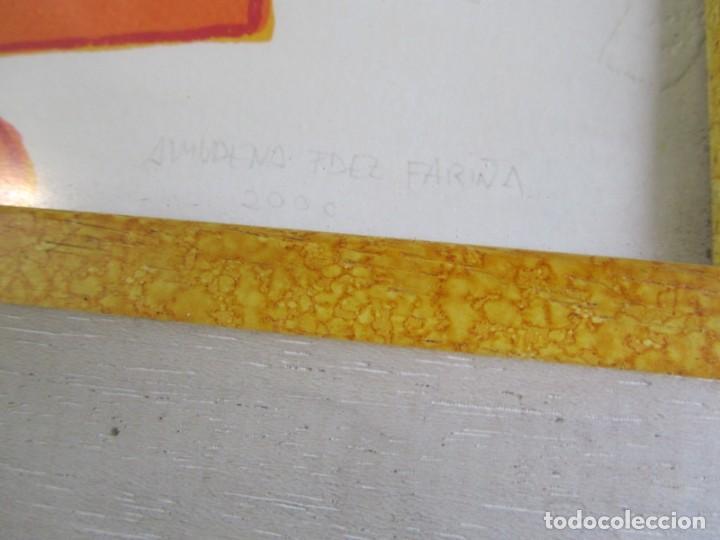 Arte: Serigrafía? enmarcada De Almudena Fernández Fariña, 135/300, año 2000 - Foto 8 - 243016050