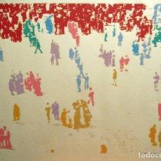 Art: SERIGRAFÍA DE ALBERTO CORAZÓN. FIRMADA ABRIL 1989 Y SIN SERIAR. MEDIDAS: 50X70 CM.. Lote 243185515