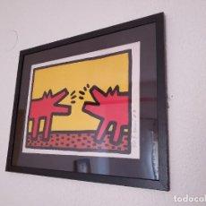 Art: KEITH HARING SERIGRAFIA SOBRE PAPEL GRUESO. Lote 243590710