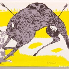 Arte: RAFAEL PEREZ MIGUEZ- 1973 - SERIGRAFIA. Lote 245619695