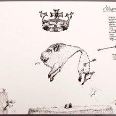 Arte: RAFAEL PEREZ MIGUEZ- 1973 - ELECTROGRAFÍA. Lote 245620590