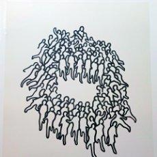 Arte: JUAN GENOVES . SERIGRAFIA EDICION LIMITADA Nº 20 DE 100, FIRMADA Y NUMERADA. AÑO 2004. TAMAÑO 48X36. Lote 245747800