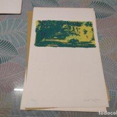 Arte: SERIGRAFÍA DE MARTA CARDENAS NUMERADA 73/75 Y FIRMADA MIREN FOTOS. Lote 247436960