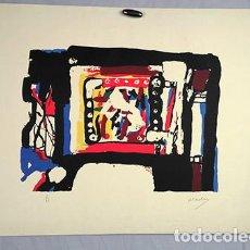 Arte: ANTONIO FERNÁNDEZ MOLINA (1927-2005). FIRMADO Y SERIADO 6/55. Lote 247983915