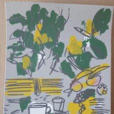 "Arte: ""DESAYUNO"" JUAN B. SANZ ( MURCIA 1949). Lote 248102310"