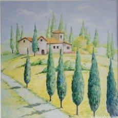 Arte: TOSCANA POR JOHANN LINDOW (ALEMANIA, 1953). Lote 248506605