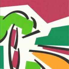 Arte: ROSA TORRES. SERIGRAFÍA II. FIRMADA A MANO. NUMERADA A MANO 104/125. 25X18 CM. 2002. BUEN ESTADO.. Lote 252822125