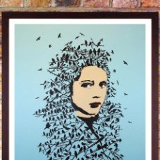Arte: CARTEL. ICY & SOT. LET HER BE FREE - POSTER DEL MOCO MUSSEUN DE AMSTERDAN, AÑO 2016. TAMAÑO 60X84 CM. Lote 253200720
