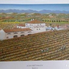 Arte: SERIGRAFÍA FIRMADA Y NUMERADA POR EL PINTOR MALAGUEÑO NAIF JAIME RITTWAGEN. CHINCHILLA.. Lote 253559775