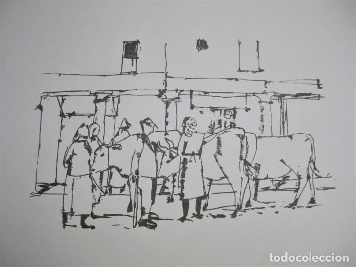 """SERIAGRAFÍA DE AGUSTÍN REDONDELA, NUMERADA 32/125 Y FIRMADA A LAPIZ. NUNCA ENMARCADA """"FERIA"""" (Arte - Serigrafías )"""