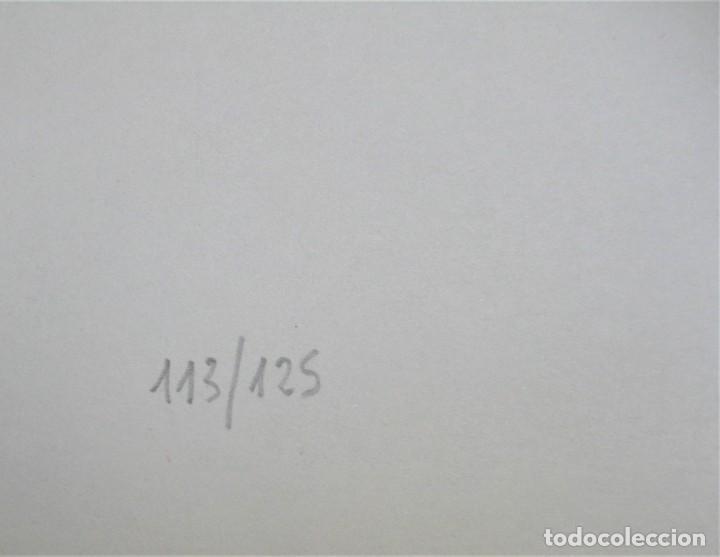 """Arte: SERIAGRAFÍA DE AGUSTÍN REDONDELA, NUMERADA 32/125 Y FIRMADA A LAPIZ. NUNCA ENMARCADA """"FERIA"""" - Foto 4 - 254701525"""