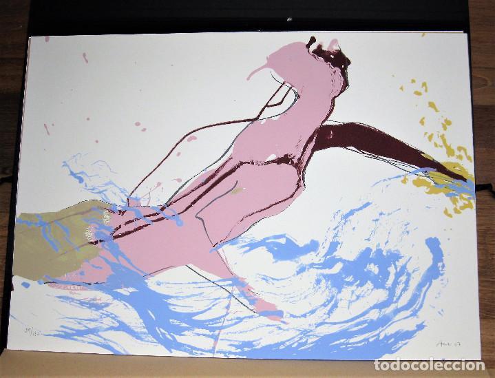 SERIGRAFIA DE LA ARTISTA MABEL ARCE NUMERADA 39/150 Y FIRMADA A LÁPIZ 70 X 50 CMS NUNCA ENMARCADA (Arte - Serigrafías )