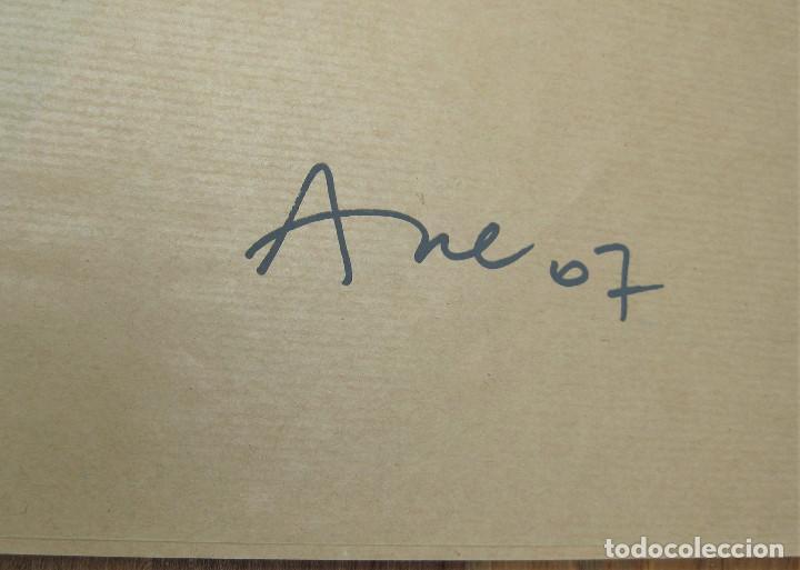 Arte: SERIGRAFIA DE LA ARTISTA MABEL ARCE NUMERADA 39/150 Y FIRMADA A LÁPIZ 70 X 50 CMS NUNCA ENMARCADA - Foto 2 - 255482975