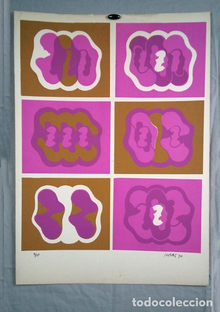 JUAN GIRALT (MADRID 1940-2007). SIN TÍTULO, 1970. FIRMADO A TINTA, 9/20 (Arte - Serigrafías )