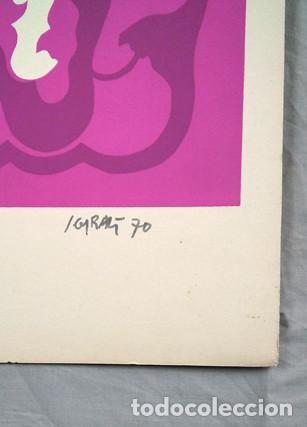 Arte: Juan Giralt (Madrid 1940-2007). Sin título, 1970. Firmado a tinta, 9/20 - Foto 2 - 264312000