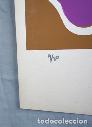 Arte: Juan Giralt (Madrid 1940-2007). Sin título, 1970. Firmado a tinta, 9/20 - Foto 3 - 264312000