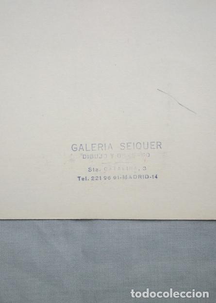 Arte: Juan Giralt (Madrid 1940-2007). Sin título, 1970. Firmado a tinta, 9/20 - Foto 4 - 264312000