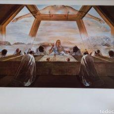 Art: LA CENA, SALVADOR DALÍ.. Lote 264452374